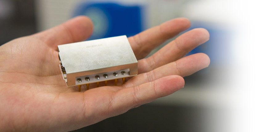 Chip-based mass spectrometer technology
